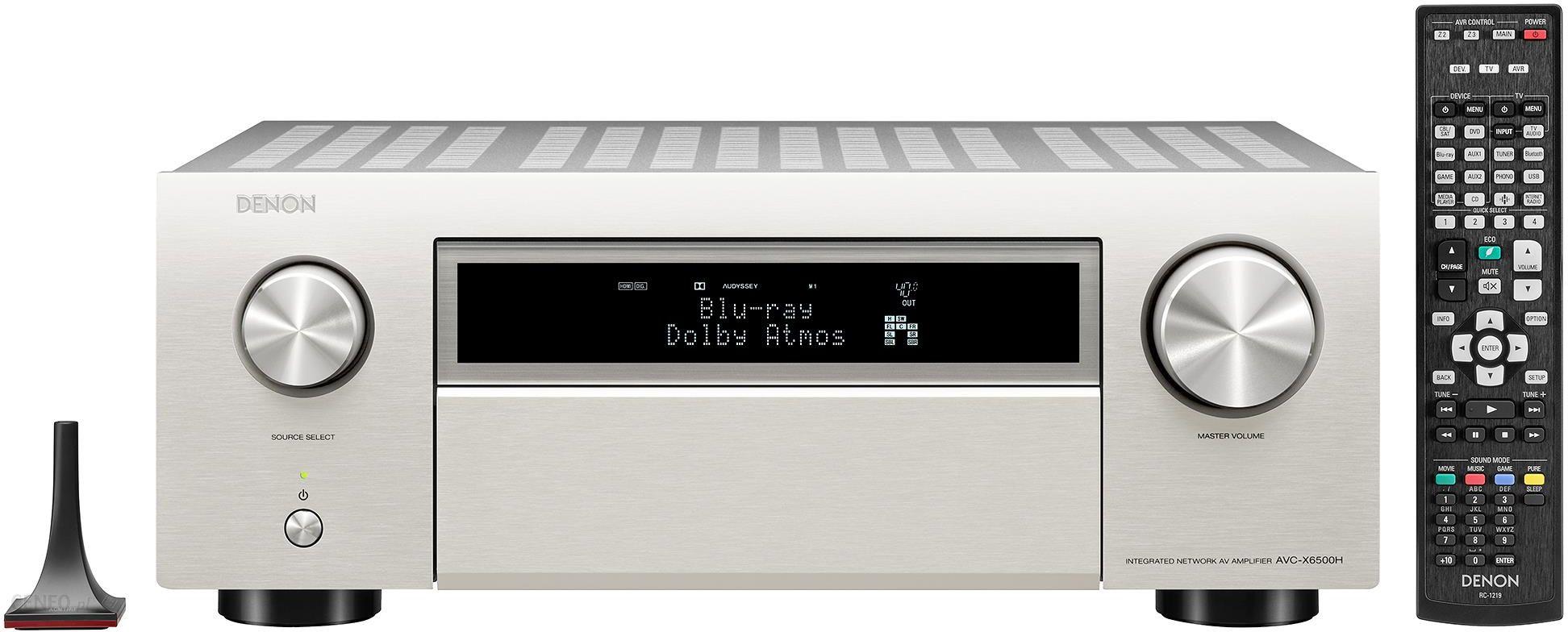 Denon AVC-X6500H sidabras
