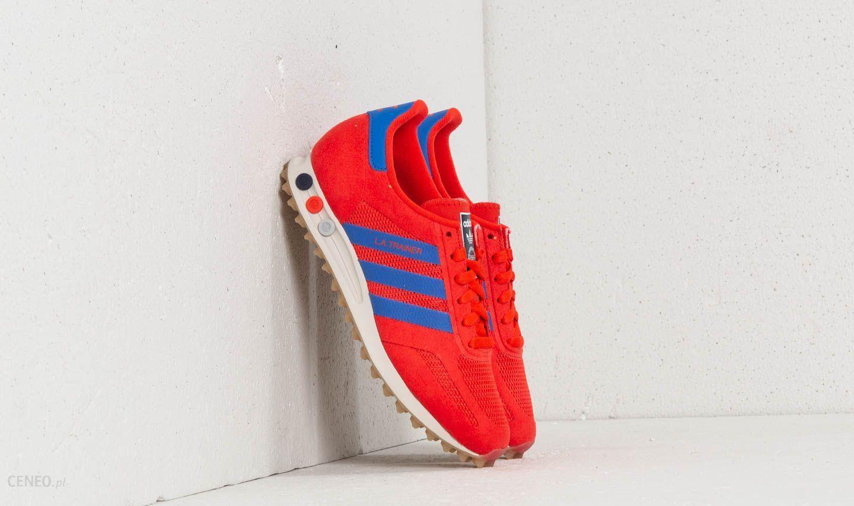 f27a8263ee5c7 Adidas LA Trainer Hi-Res Red  Hi-Res Blue  Talc - Ceneo.pl