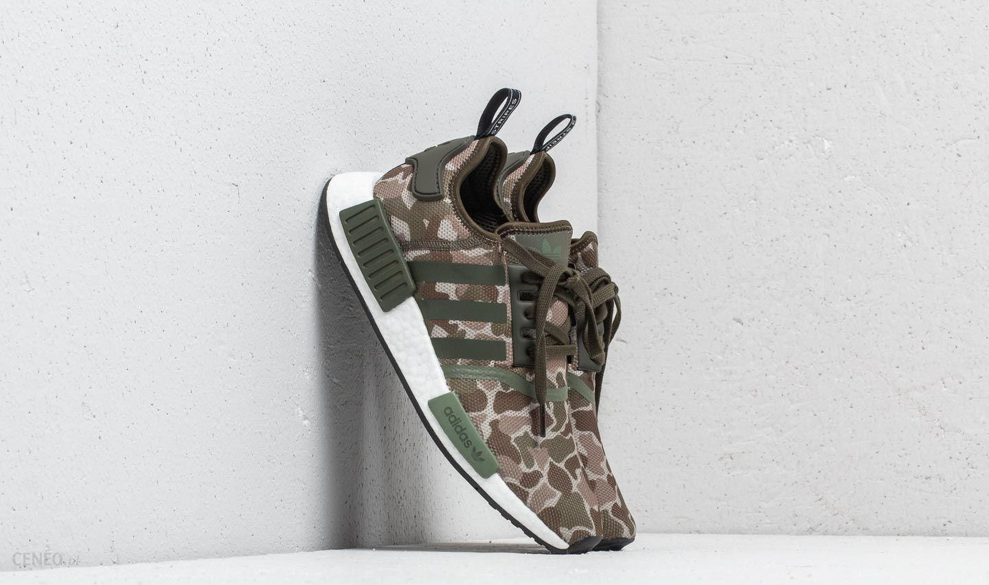 cheap for discount 583d6 6f914 adidas NMD R1 Sesame  Trace Cargo  Base Green - zdjęcie 1