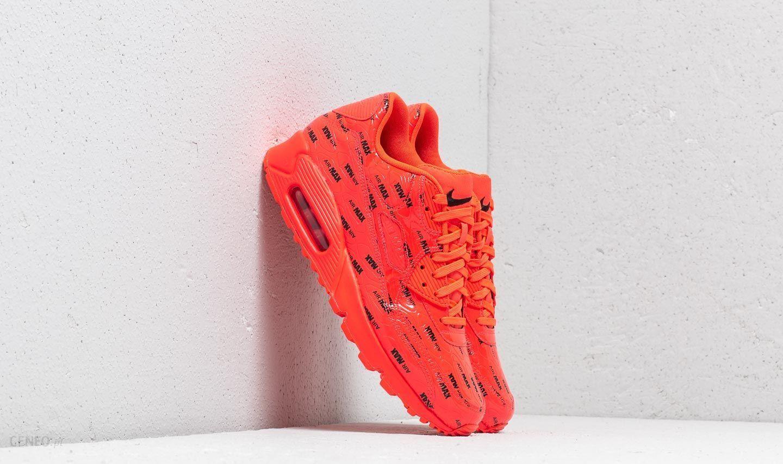 Nike Air Max 90 Premium Men Lifestyle Shoes Bright Crimson