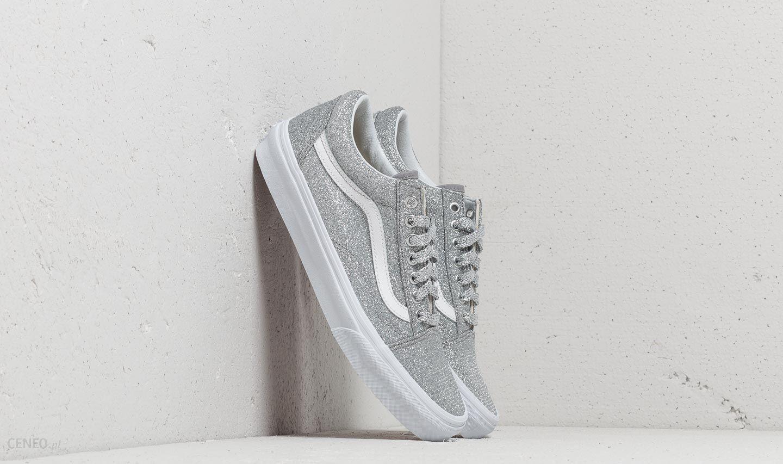 Vans Old Skool (Lurex Glitter) Silver True White