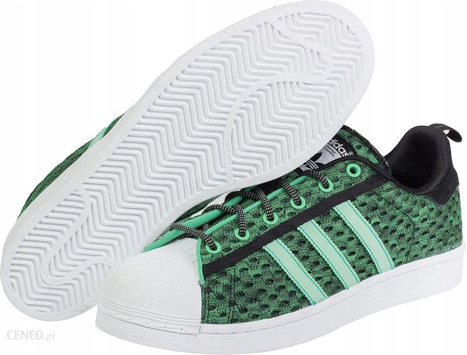 Buty Męskie Adidas Superstar Zielone F37671_42 Ceny i opinie Ceneo.pl
