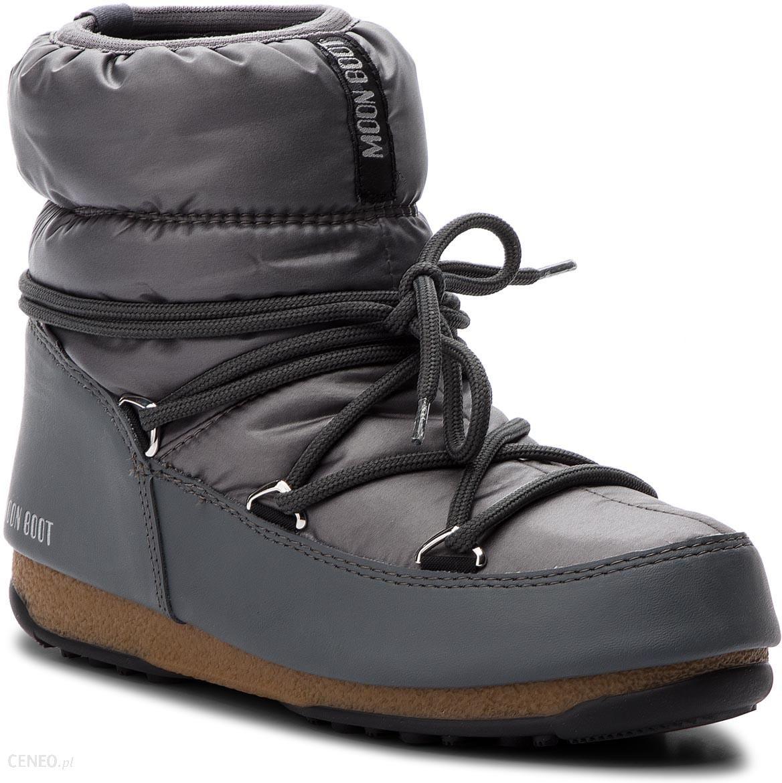 54182d6d8d77 Śniegowce MOON BOOT - Low Nylon Wp 24006200007 Castle Rock - Ceny i ...