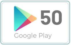 Google Play 50 Zl Karta Pre Paid Podarunkowa Ceny I Opinie