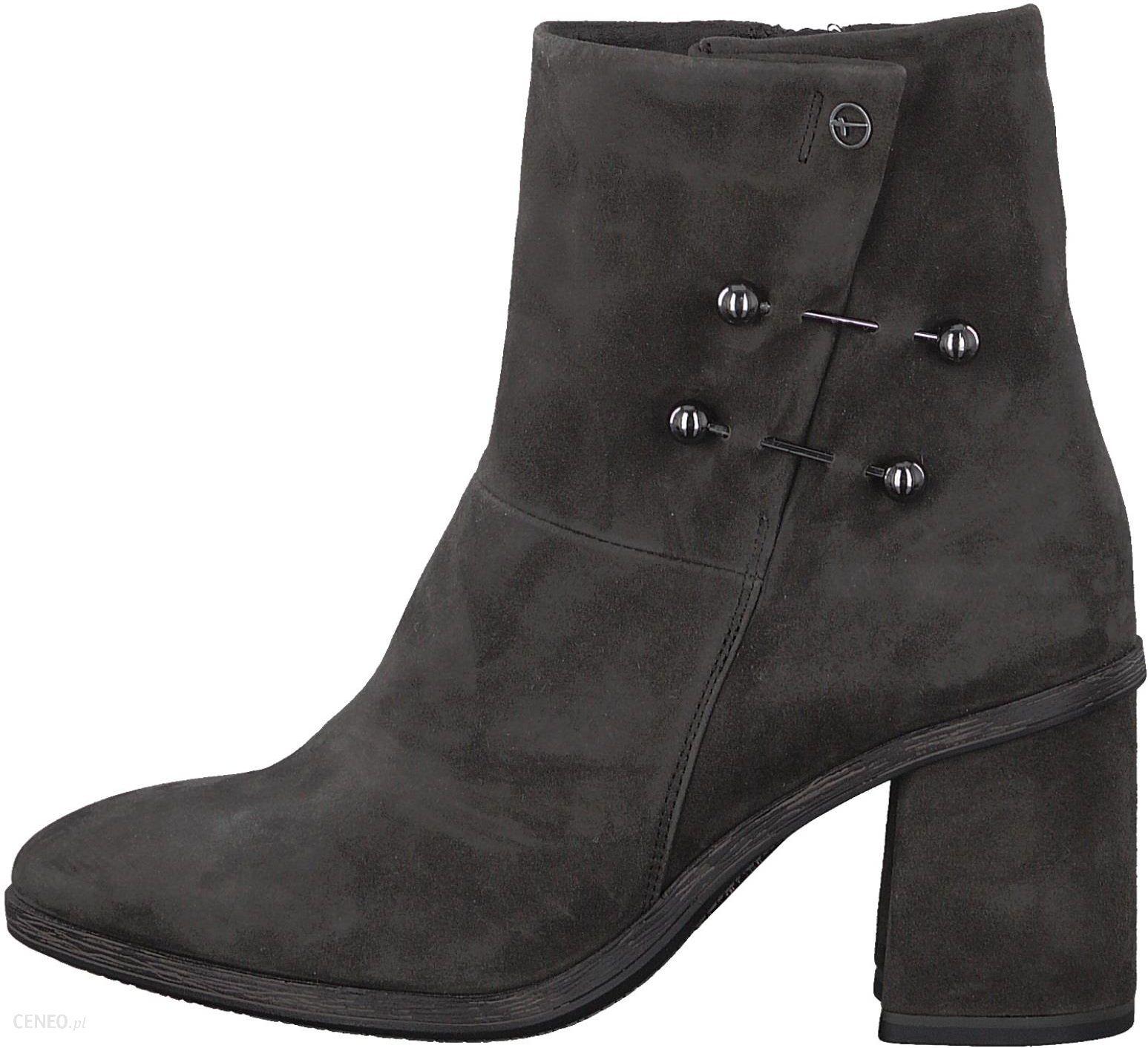 Tamaris buty za kostkę damskie 36, ciemnoszary