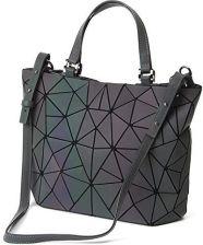 7df48a56d88f3 Amazon Gupiar damska torebka damska torba na ramię Clutch torebka wieczorowa  geometryczna Ling Grid świecąca zmiana
