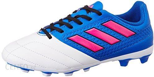 new concept df023 d14e9 Amazon Adidas Ace 17.4 FXG dzieci niebiesko-biało-różowy