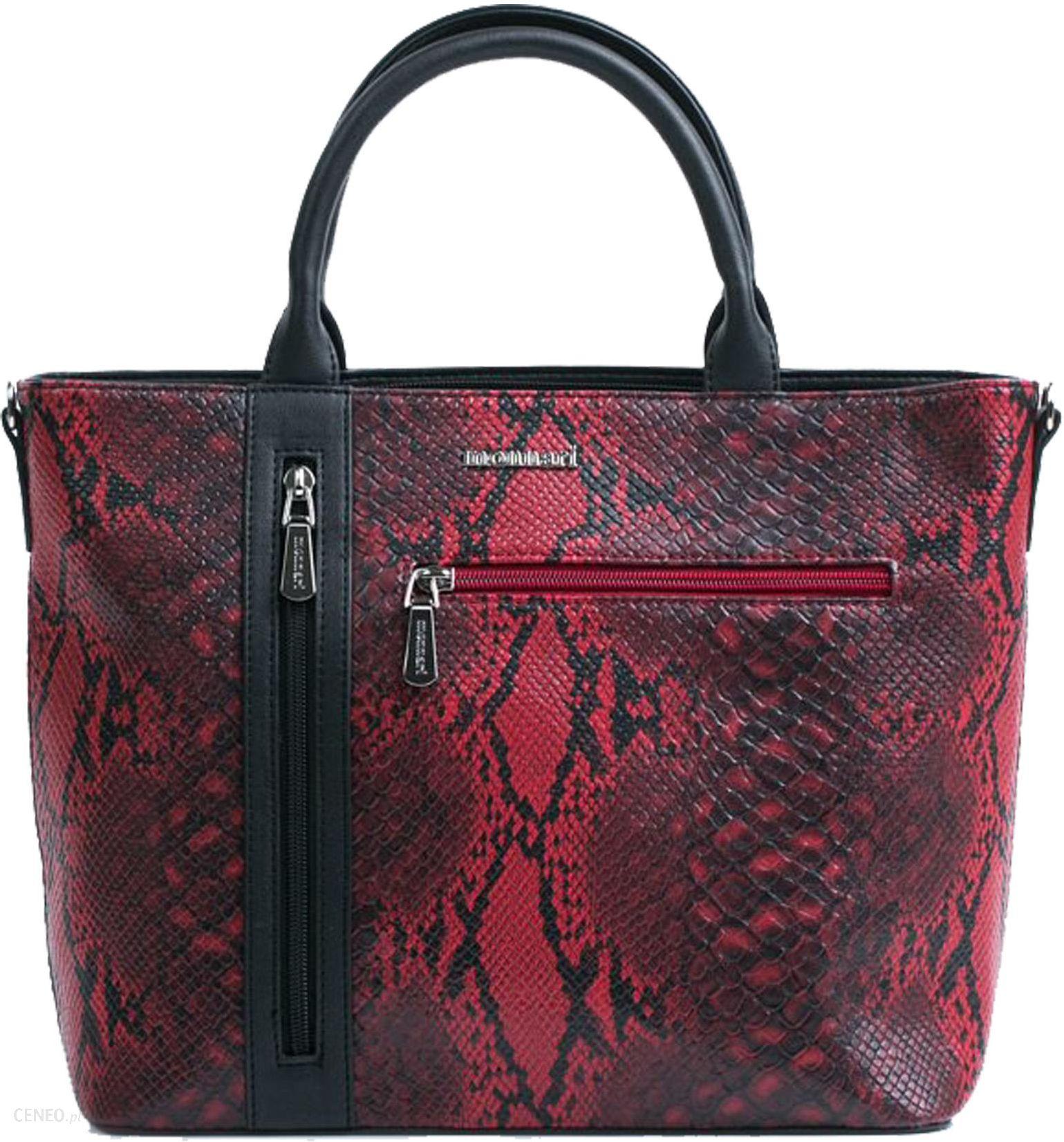2a5b18ac47bb6 Torebka Monnari Handbag BAGB540-005 czerwona - Ceny i opinie - Ceneo.pl