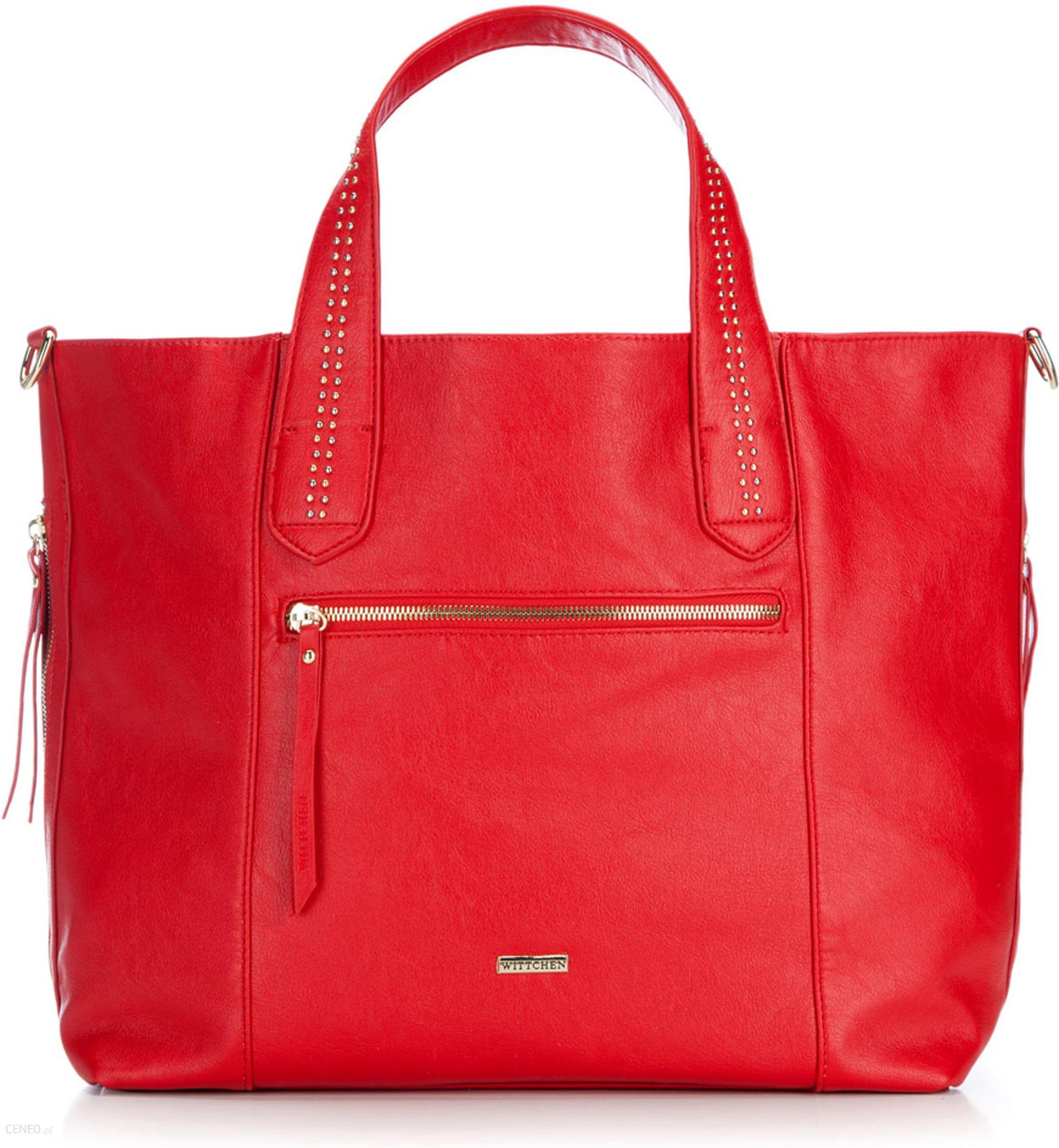 27d97a6118005 Torebka Wittchen Young Shopper Bag 86-4Y-120-3 czerwona - Ceny i ...