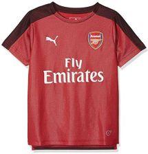 Seguro práctica Litoral  Amazon PUMA Arsenal FC Stadium Jersey SS dla dzieci z EPL sponsor T-Shirt z  logotypem, czerwony, 164 - Ceneo.pl