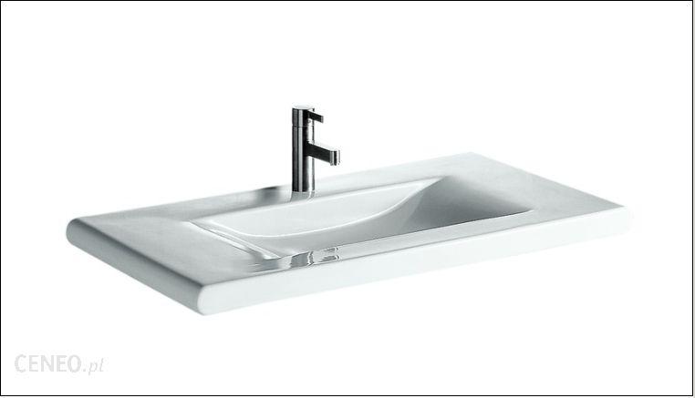 umywalka laufen living style 98 5 814437 opinie i ceny na. Black Bedroom Furniture Sets. Home Design Ideas