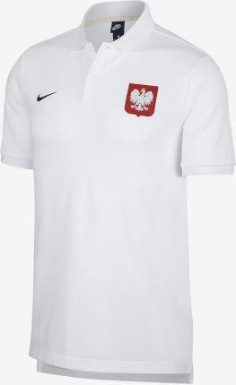 6c047f4d0e541 Arena Koszulka Nike Polska Polo Biała 92800220578