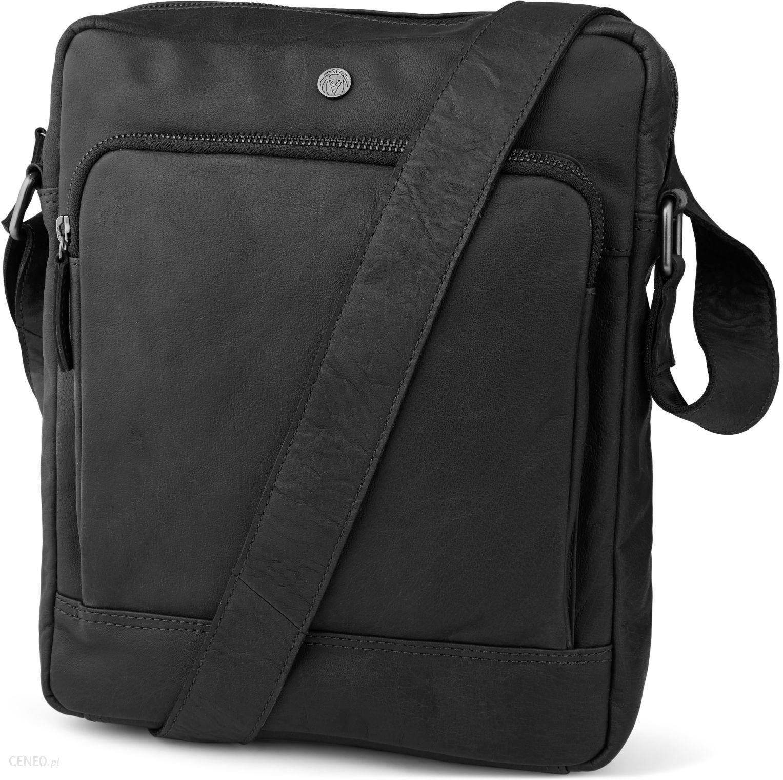 f534d8b579de8 Czarna skórzana klasyczna torba miejska Oxford - Ceny i opinie ...