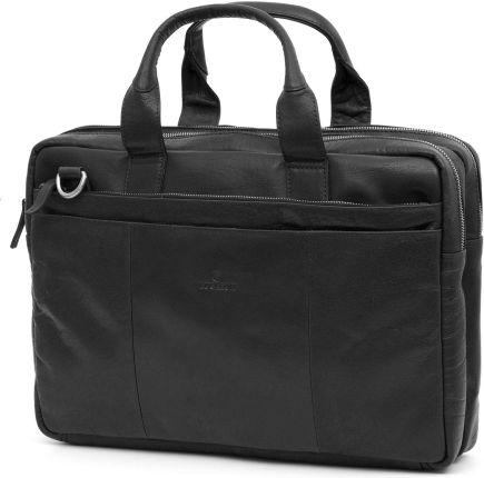 66bb693b51378 Podobne produkty do TOMMY HILFIGER TORBA CITY SLIM COMPUTER BAG. Czarna  skórzana torba na laptopa Montreal