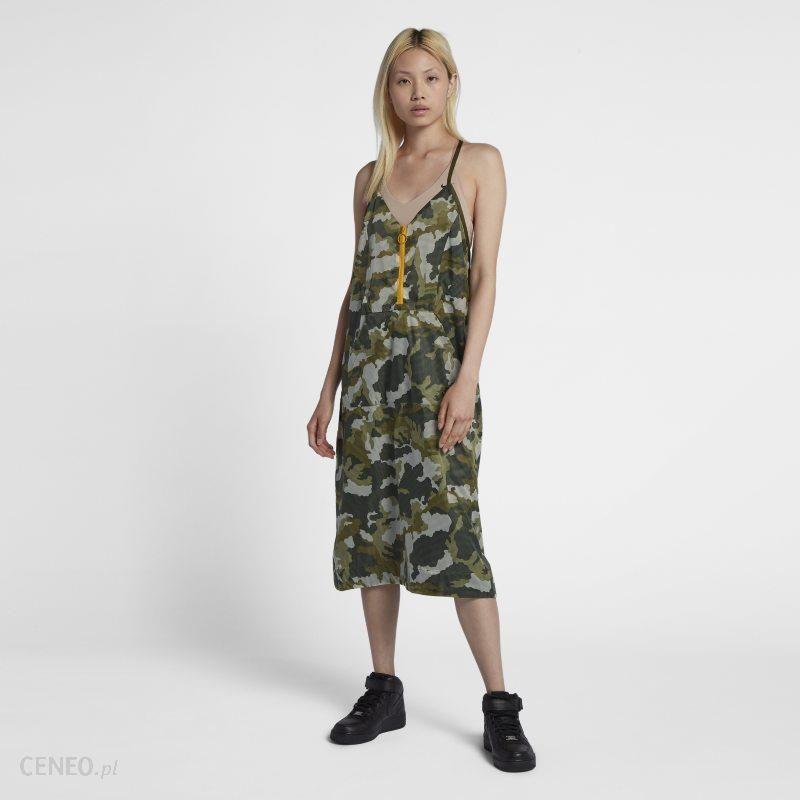 0f54ea9989 Sukienka damska z dzianiny Nike Sportswear NSW - Zieleń - Ceny i ...