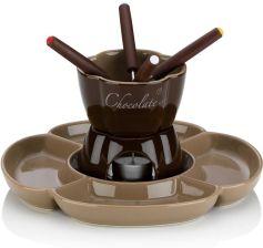 Kela Ceramiczny Zestaw Do Fondue Czekoladowego Dla 4 Os 0 25 L Ke12423 Opinie I Atrakcyjne Ceny Na Ceneo Pl