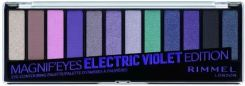 RIMMEL Magnif'Eyes paletka cieni do powiek 008 Electric Violet Edition 14g