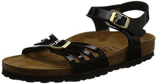 Amazon BIRKENSTOCK Bali damskie sandały na kostki - czarny - 38 EU -  zdjęcie 1 1c301fe5373