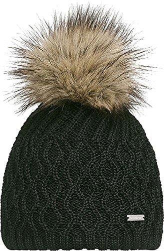 4395a505cba34 Amazon stoehr okrycie z dzianiny czapka z futrem dla kobiet do robienia na  drutach czapka z