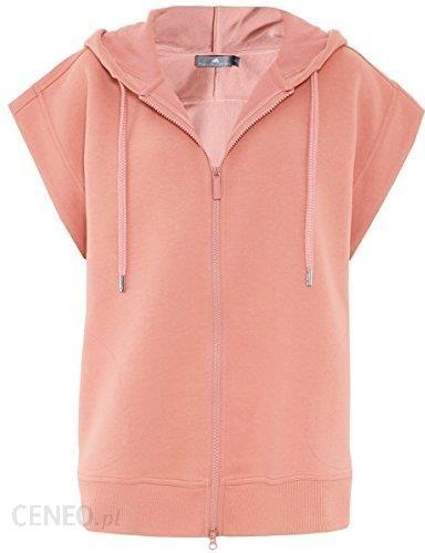 208740259c6e Amazon Adidas by Stella McCartney żeńskie Yoga bez rękawów bluza z kapturem  cynamon pozaotrzewnowych - m