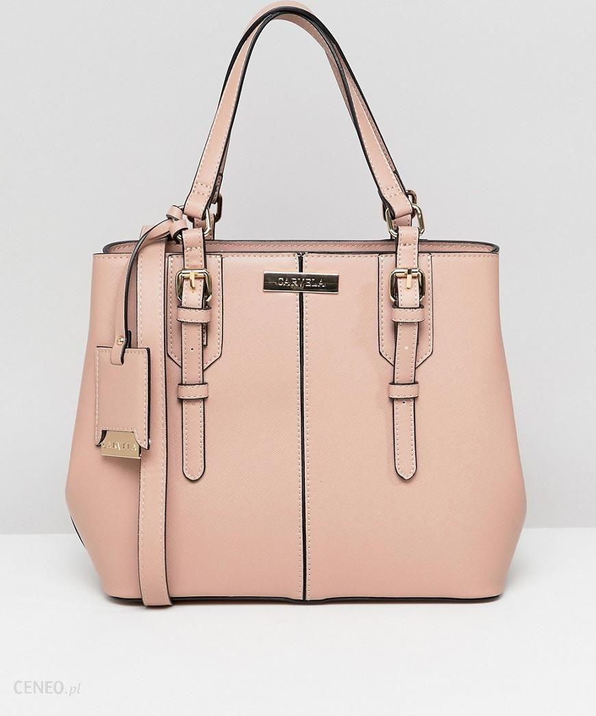 e0bc4e7193 Carvela Ortha Mini Slouch Tote Bag - Pink - zdjęcie 1