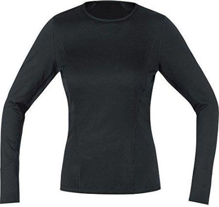 5501f4e9daf310 Amazon Gore Wear koszulka oddychająca damska koszulka  termiczna-polowa-T-Shirt, Gore M Women Base Layer Thermo Long Sleeve,,,,,  100315, czarny, 34