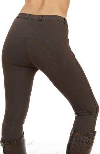 cce3a6d653f07 Amazon Sherwood Forest damskie spodnie do jazdy konnej, brązowy - zdjęcie 1