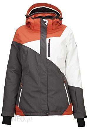 Amazon Killtec Kirty kurtka narciarskakurtka snowboardowakurtka funkcyjna z odpinanym kapturem i pas śnieżny, ciemny granat, 46, szary, 42