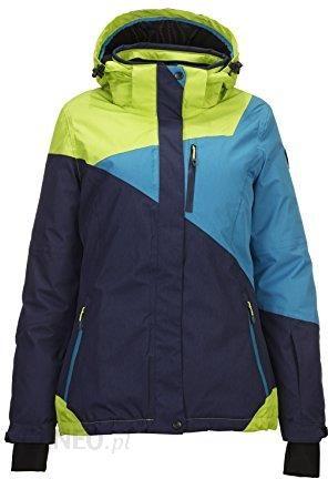 Amazon Killtec Kirty kurtka narciarskakurtka snowboardowakurtka funkcyjna z odpinanym kapturem i pas śnieżny, ciemny granat, 46, niebieski, 42