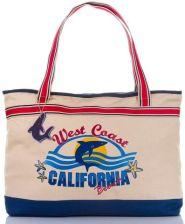 bc230831239c5 Duża Torebka Torba Plażowa California Xxl 2201-1