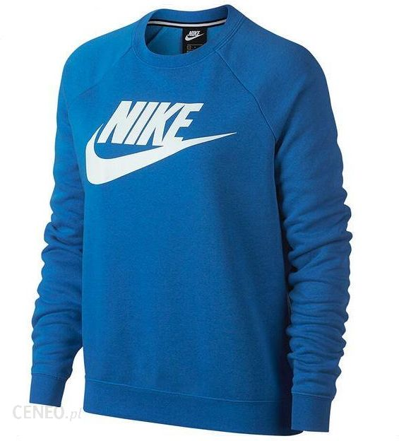 bluza nike damska niebieska