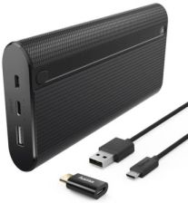 Hama Power Pack X20 20000mAh Czarny (178985)