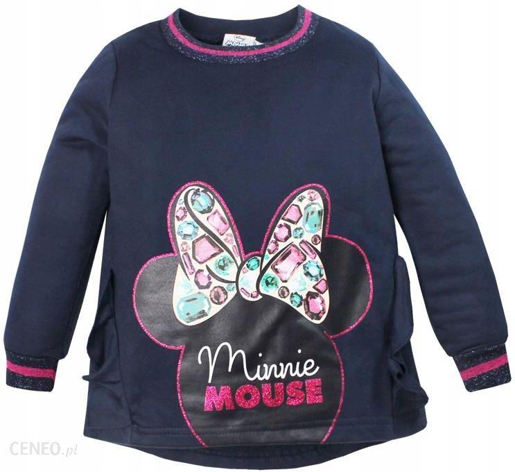 Myszka Minnie Bluza Dziewczęca Disney Super 128 Ceny i opinie Ceneo.pl