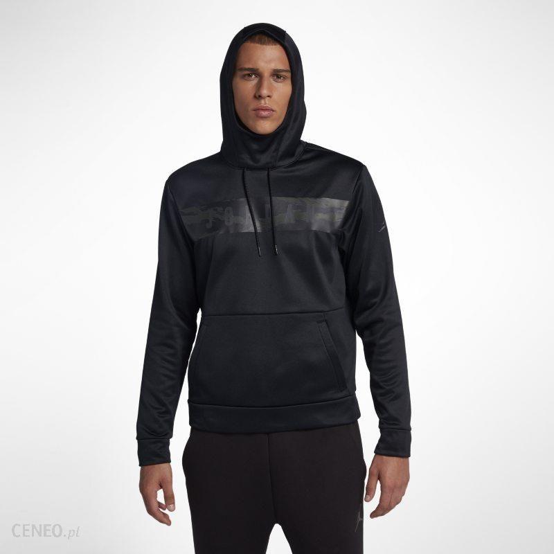 Męska bluza z kapturem Jordan 23 Alpha Therma Czerń Ceny i opinie Ceneo.pl