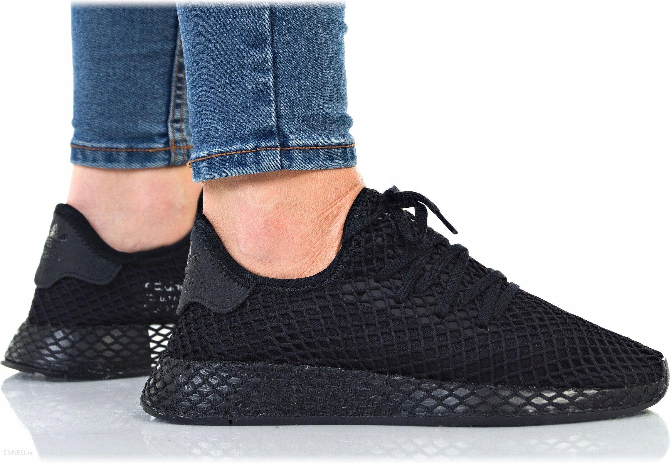 Buty Adidas Damskie Deerupt Runner J B41877 Czarne - Ceny i opinie -  Ceneo.pl