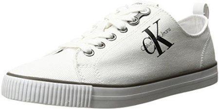 6ee1d3b96d4e6 Amazon Calvin Małe jeansy damskie Dora Canvas Sneakers, kolor: biały (wht),