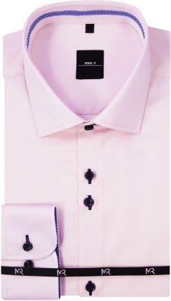 c37b80e20fd99e Mmer - Koszule męskie Jasnoróżowa koszula męska Mmer 201