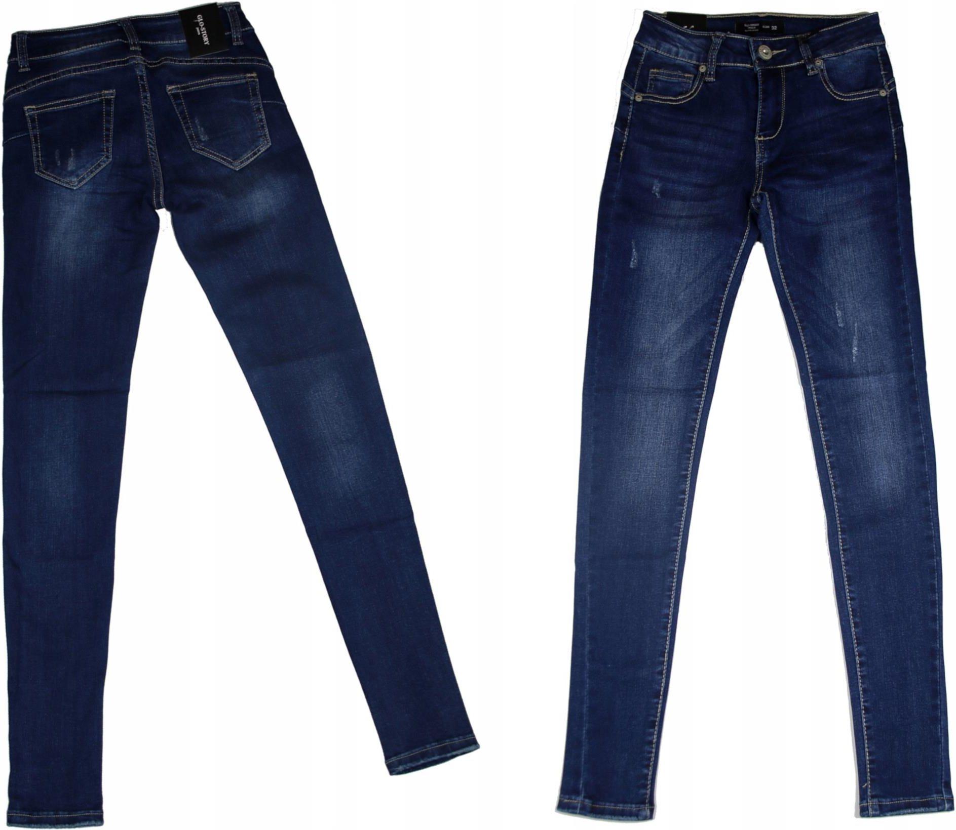 3c9920ebe203 Jeansy Damskie Spodnie Jeansowe damskie jeansy 34 - Ceny i opinie ...