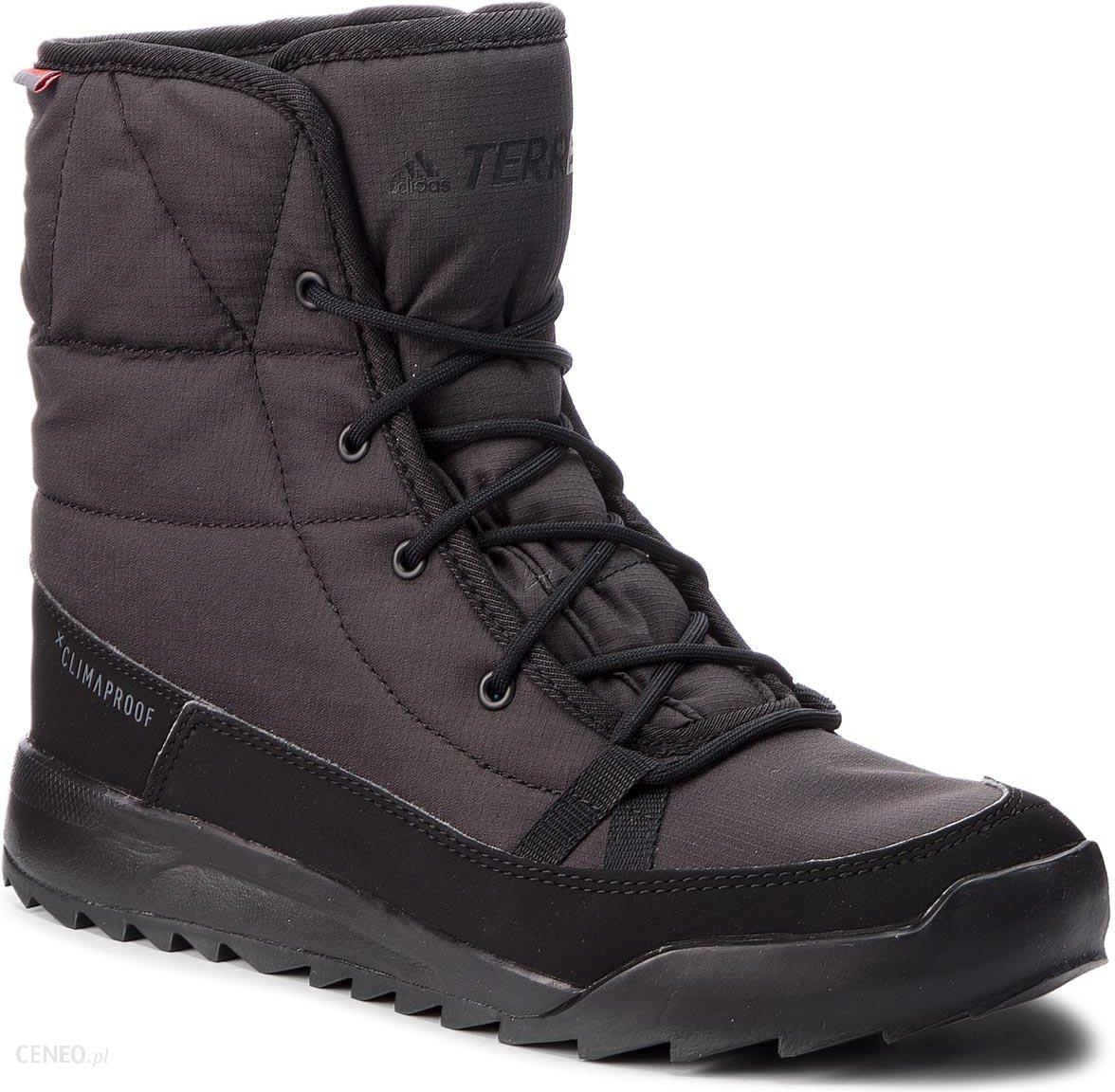Śniegowce adidas Terrex Choleah Padded Cp S80748 CblackCblackGrefiv Ceny i opinie Ceneo.pl