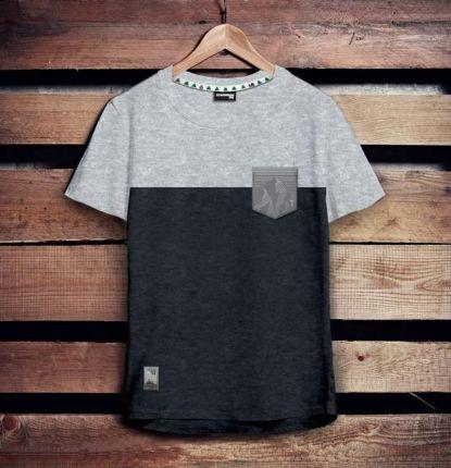 T shirt męski by Patrycja Podkościelny szary – MEDICINE