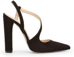 2defc0b6 Made in Italia skórzane sandały damskie szpilki czarny 38 - Ceny i ...