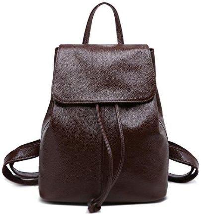 f12993b90d90e Amazon BOYATU skórzany plecak dla kobiet Mini Daypack mała torba na ramię torba  podróżna, kolor