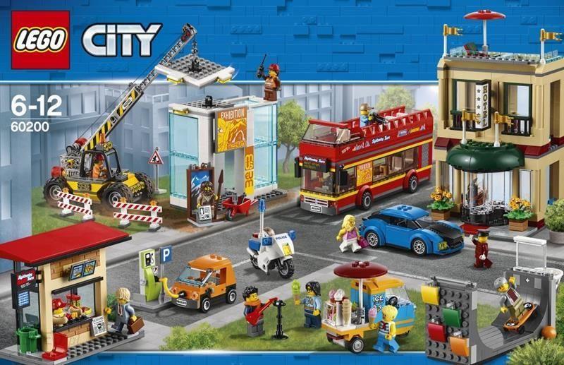 Klocki Lego City 60200 Stolica 56 Ceny I Opinie Ceneopl