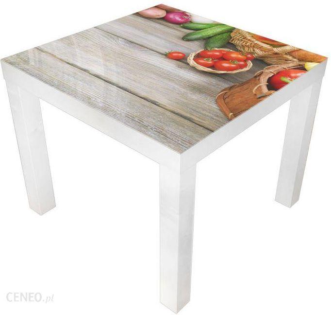 Glare Glass Stolik Kawowy Ikea Biały Szklany Blat Warzywa 55x55 Opinie I Atrakcyjne Ceny Na Ceneopl