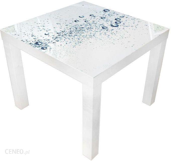 Glare Glass Stolik Kawowy Ikea Biały Szklany Blat Krople 55x55 31439549 Opinie I Atrakcyjne Ceny Na Ceneopl