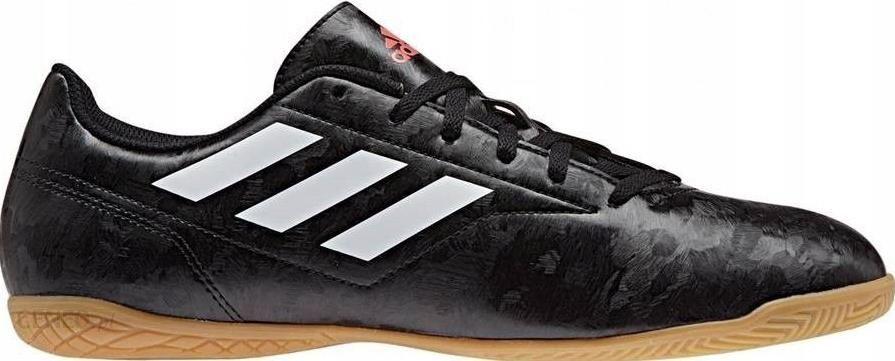 new concept 4c3c5 5011c r. 45 1 3 Buty Halówki Adidas BB0552 Czarne Hala - zdjęcie 1