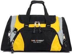 bee6c9f062ab2 Bag Street Torba Sportowa Podróżna bagaż Duża T28 Odcienie żółtego i złota