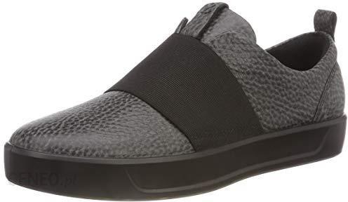 Amazon Ecco Soft 8 damskie buty typu sneaker, kolor: czarny (Black 1001), rozmiar: 37 Ceneo.pl