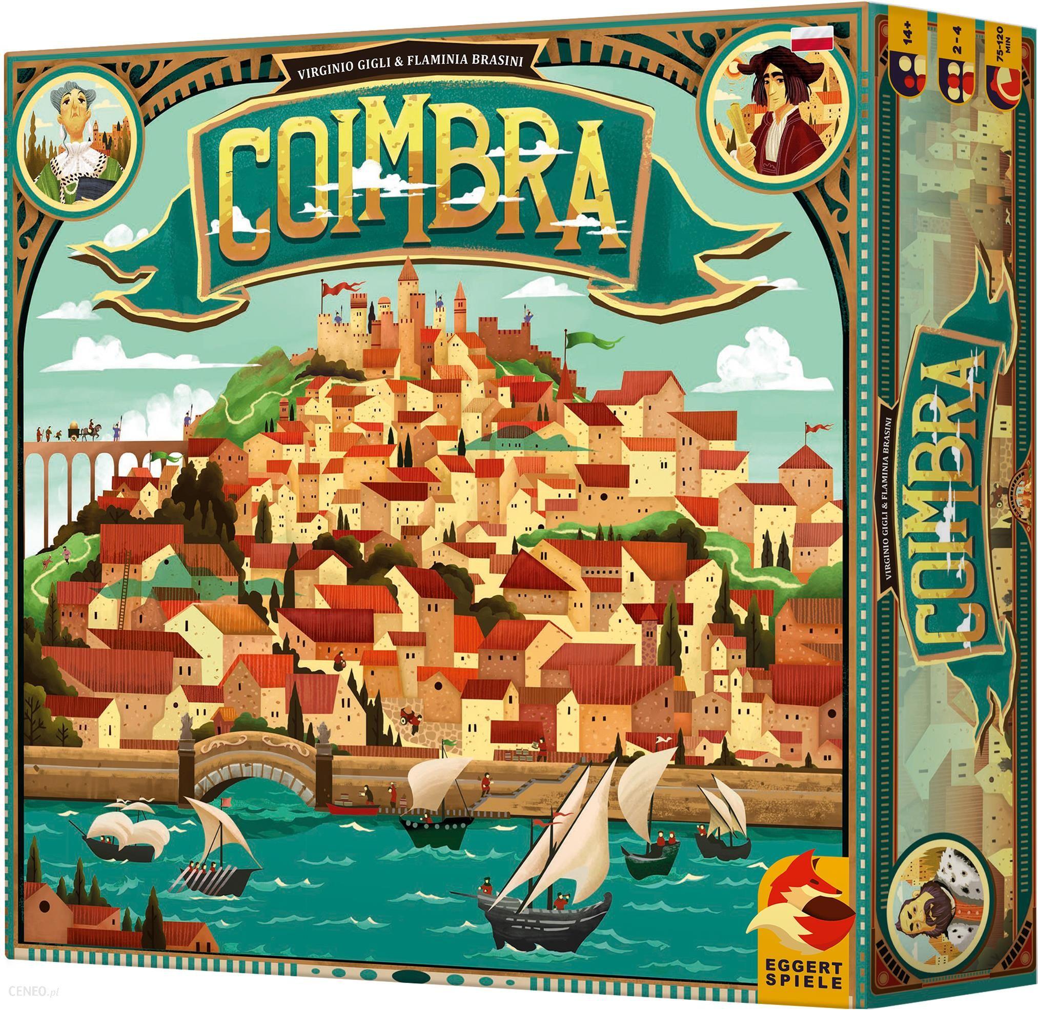 Gra planszowa Rebel Coimbra (edycja polska)