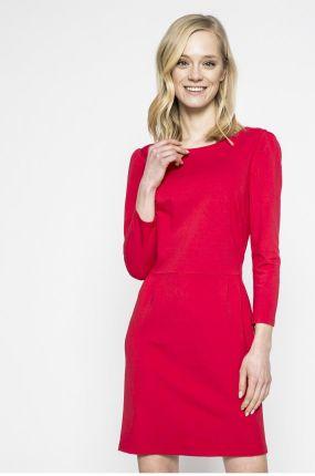 3b44b86d5a Sukienka Model MOE234 Red - Ceny i opinie - Ceneo.pl